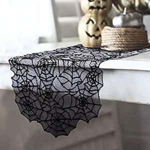 Halloween Spiderweb Table Runner